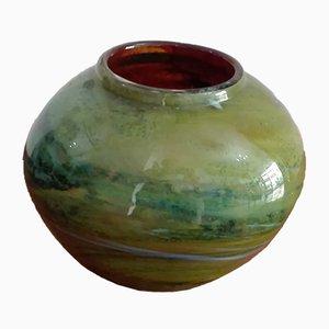 Mid-Century Murano Vase von Ercole Barovier für Barovier&Toso