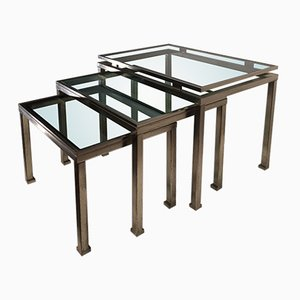 Vintage Nesting Tables by Guy Lefevre for Maison Jansen