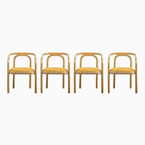 Chairs from TON, 1970s, Set of 4