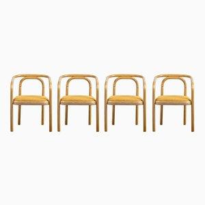 Chaises de TON, 1970s, Set de 4
