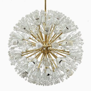 Large Snowball Chandelier by Emil Stejnar for Rupert Nikoll, 1950s