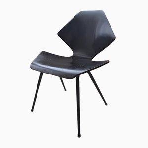 Vintage Schichtholz Stuhl von Frank Guille für Kandya