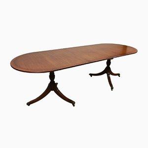 Table Mid-Century en Acajou à Rallonge