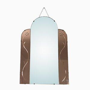 Rahmenloser Vintage Spiegel