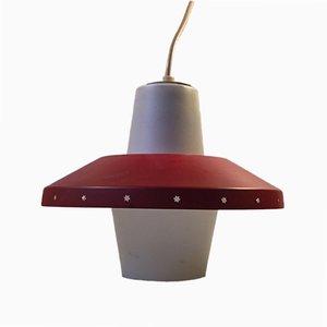 Lámpara de techo Star danesa de Bent Karlby para Lyfa, años 50