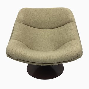 Dutch F558 Oyster Lounge Chair by Pierre Paulin for Artifort, 1960s