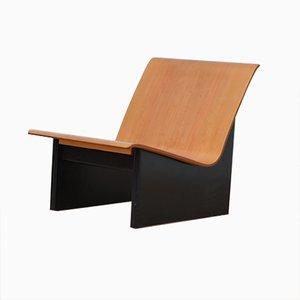 Hölzerner Vintage Sessel