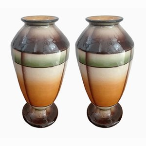 Italian Vases, 1950s, Set of 2