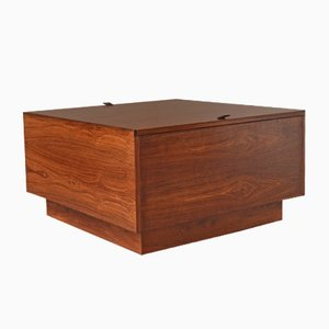 Finnish Mid-Century Coffee Table & Storage Box from Vilka, 1950s