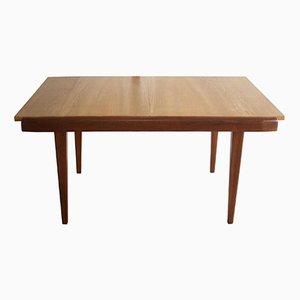 Tavolo da pranzo allungabile, anni '60