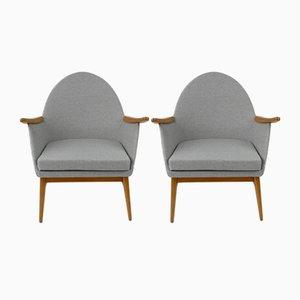 Ungarische Vintage Sessel, 1960er, 2er Set