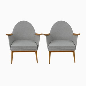 Vintage Hungarian Armchairs, 1960s, Set of 2