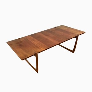 Teak Coffee Table by Peter Hvidt & Orla Molgaard-Nielsen for France & Søn, 1960s