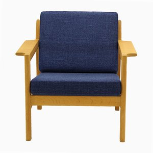 Vintage Model 216 Easy Chair by Børge Mogensen for Fredericia