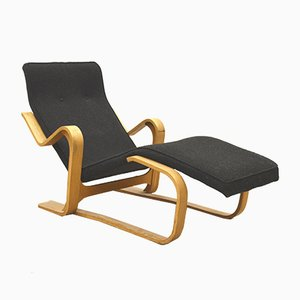 Birch Chaise Longue by Marcel Breuer for Isokon, 1950s
