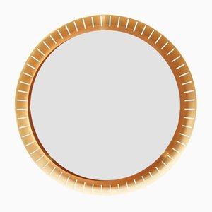 Specchio grande vintage retroilluminato di Stilnovo