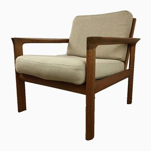Teak Easy Chair by Arne Wahl Iversen for Komfort, 1960s