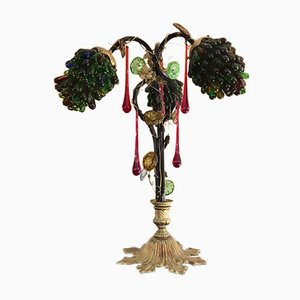 Lámpara de mesa Grapefruit, años 50