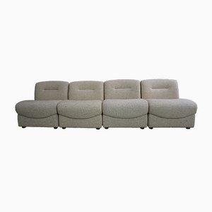 Vintage Modular Lounge Chairs, Set of 4