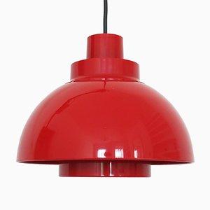 Lámpara colgante Minisol danesa era espacial de K. Kewo para Nordisk Solar Compagni, años 60