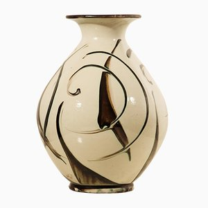 Vaso Art Deco grande di Herman A. Kähler