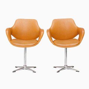 Chaises Pivotantes de Mobilier Modulaire Moderne, 1970s, Set de 2