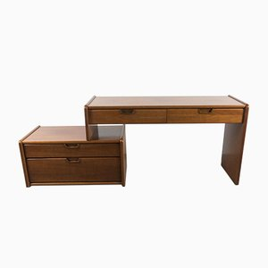 Mid-Century Desk with Storage from Moser