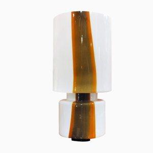 Murano Glas Tischlampe, 1970er