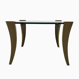 Brutalist Bronze Coffee Table, 1970s