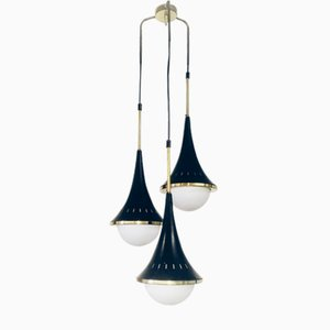 Mid-Century Italian Conical Pendant from Stilnovo