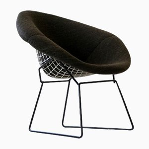 Poltrona Diamond Mid-Century a rete di Harry Bertoia per Knoll International