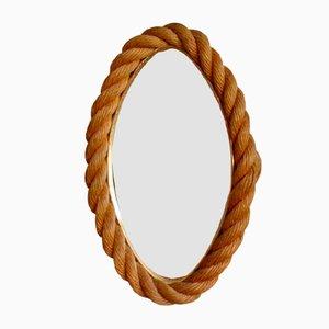 Espejo minimalista vintage con cuerda