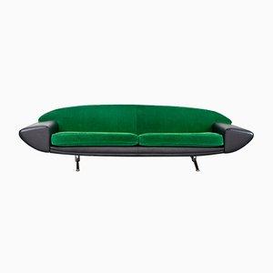 Model Capri Boomerang Sofa by Johannes Andersen for AB Trensums Fåtöljfabrik, 1958