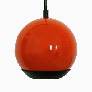Petit Projecteur à Suspension Balle Vintage Orange d'ES Horn Belysning