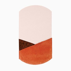 Medium CN Orange/Brown Oci Rug by Seraina Lareida for Portego