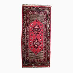 Algerischer Handgeknüpfter Vintage Berber Teppich, 1970er