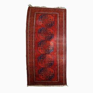 Alfombra Afghan Ersari vintage hecha a mano, años 50