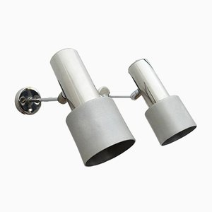Italienische Moderne Schwenkbare Wandlampen, 1960er, 2er Set