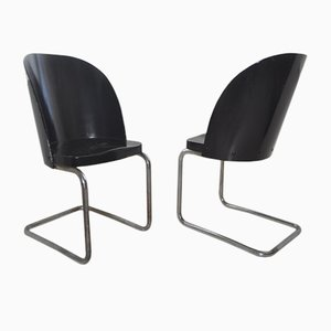 Bentwood B248 Chairs from Thonet, 1930s, Set of 2