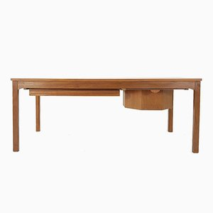 Mid-Century Teak Sewing Table by Johannes Andersen for CFC Silkeborg