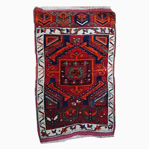 Tappeto Yastik antico fatto a mano, Turchia, fine XIX secolo
