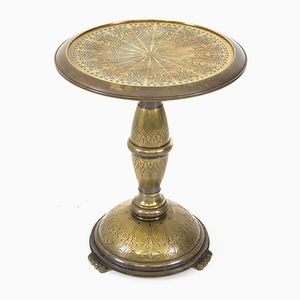 Dutch Art Deco Brass Occasional Table, 1930s
