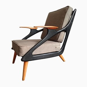 Atomic Lounge Chair by B. Spuij's, Netherlands, 1950s