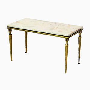 Table d'Appoint Vintage Dorée, France