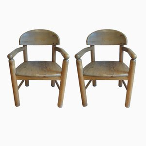 Carver Dining Chairs by Rainer Daumiller for Hirtshals Sawmil, 1970s, Set of 2