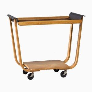 Vintage Plywood PB31 Tea Trolley by Cees Braakman for UMS Pastoe