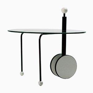 Tavolino vintage postmoderno di Michele De Lucchi per Memphis