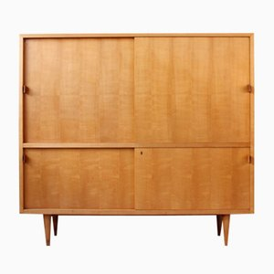 Vintage Cherry Highboard from WK Möbel, 1950s