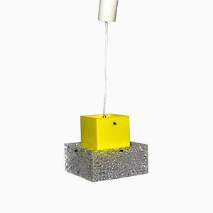 Lámpara colgante vintage de plexiglás de Austrolux