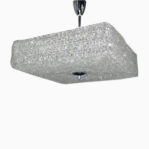 Große Acryglas Deckenlampe von Austrolux